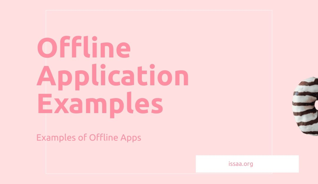 Offline application examples is displayed on a light background.